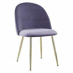 Jídelní Židle Artdeco Šedá