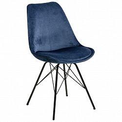 Jídelní Židle Eris Tmavě Modrá