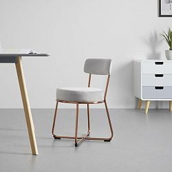 Jídelní Židle Pamela Světlá Šedá