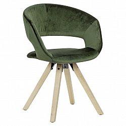 Jídelní Židle S Područkami Zelená