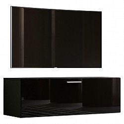 Tv - Skříňka Fernso Š: 115cm Bílá Vysoký Lesk