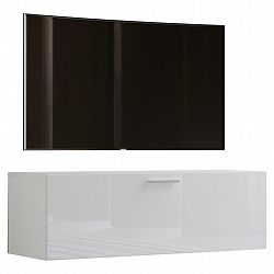 Tv- Skříňka Fernso Š: 115cm Bílá Vysoký Lesk