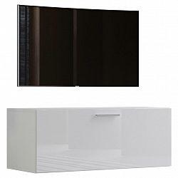 Tv- Skříňka Fernso Š: 95 Cm Bílá Vysoký Lesk