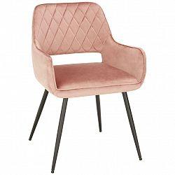 Židle Serafina Růžová